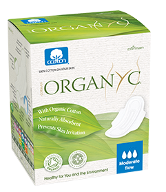 organyc biodegradable pads