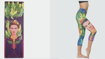 frida kahla yoga pants