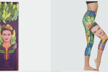 frida kahla yoga pants